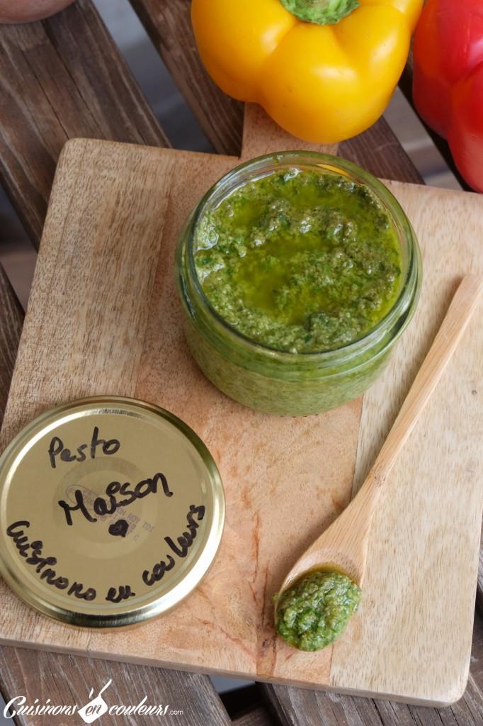 Pesto-maison-682x1024 - Pesto au basilic alla genovese