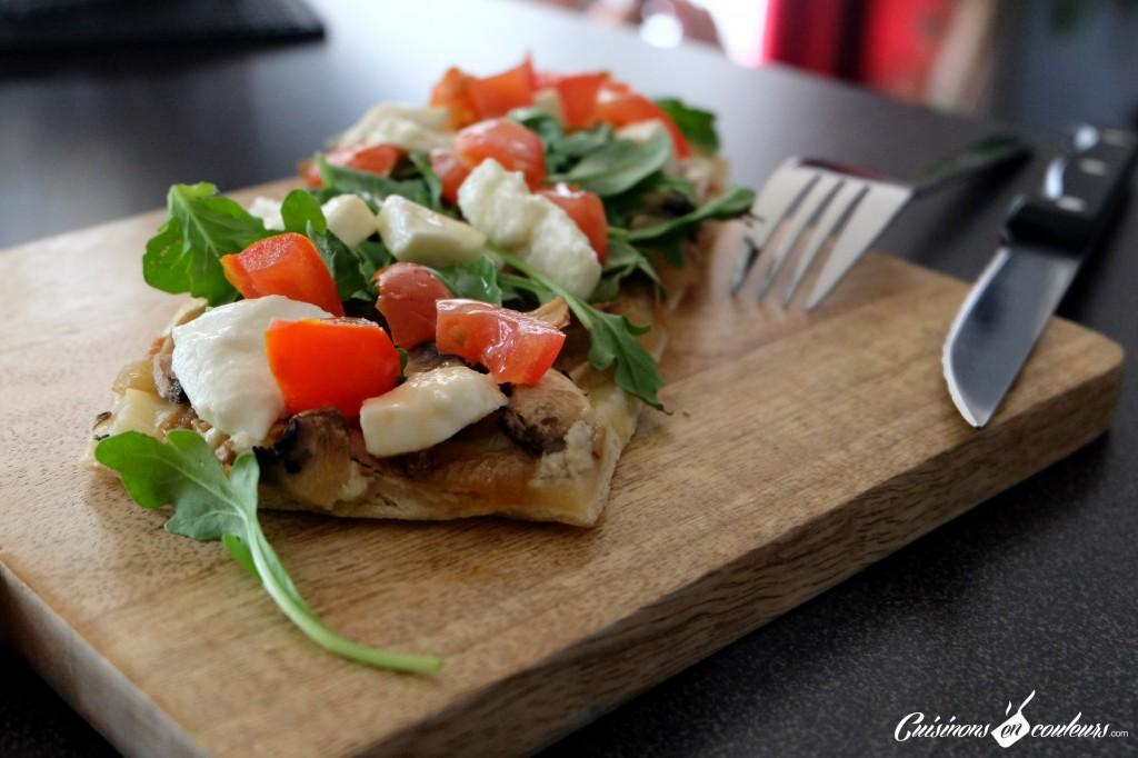 Pizza-chaud-froid-aux-champignons-1024x682 - Pizza aux champignons et aux oignons caramélisés