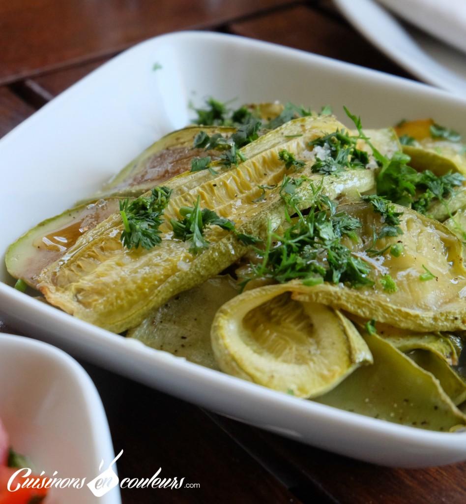 Courgettes-grillées-en-salade-948x1024 - Salade de courgettes grillées au four à tomber