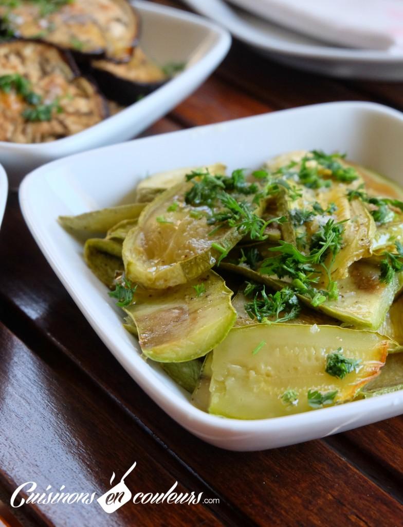 Salade-de-courgettes-à-lhuile-dolive-784x1024 - Salade de courgettes grillées au four à tomber