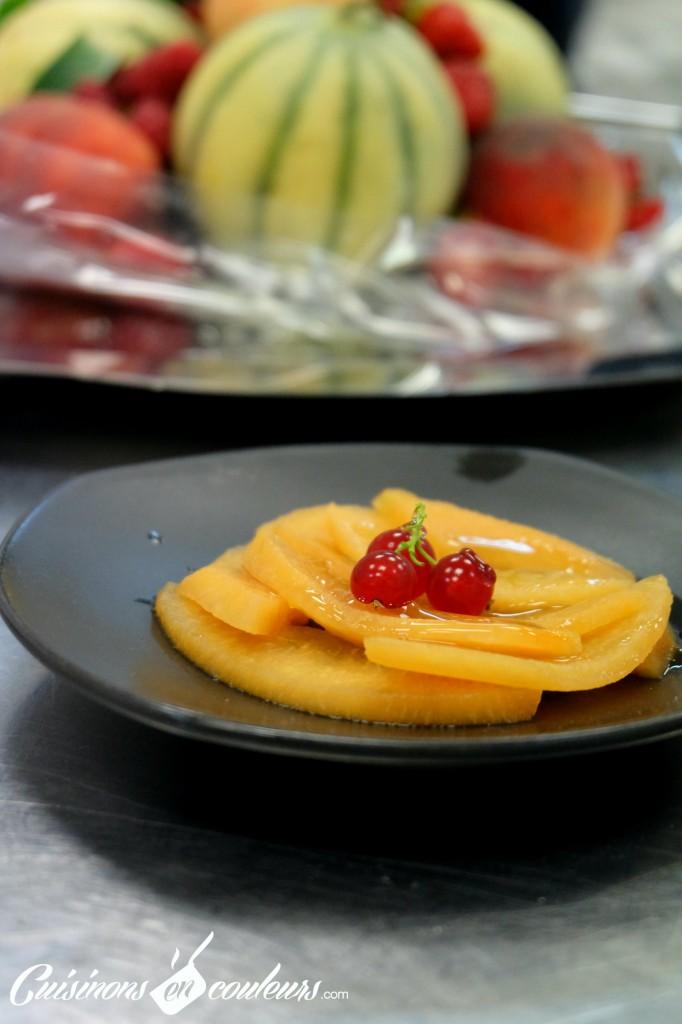 carpaccio-de-melon-682x1024 - A la découverte des desserts du 16 Haussmann