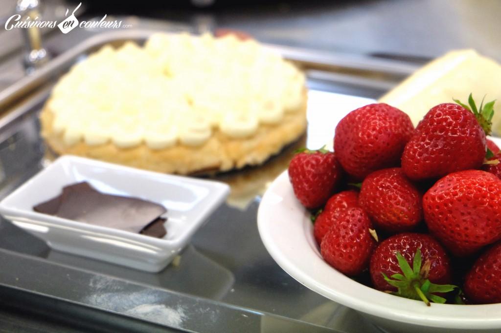 fraisier-du-16-haussmann-1024x682 - A la découverte des desserts du 16 Haussmann