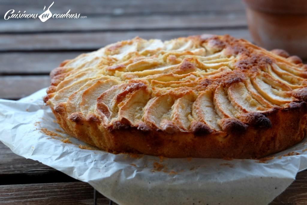 Gateau-tarte-aux-pommes-1024x682 - Mi gâteau, mi tarte... fondant aux pommes Gala