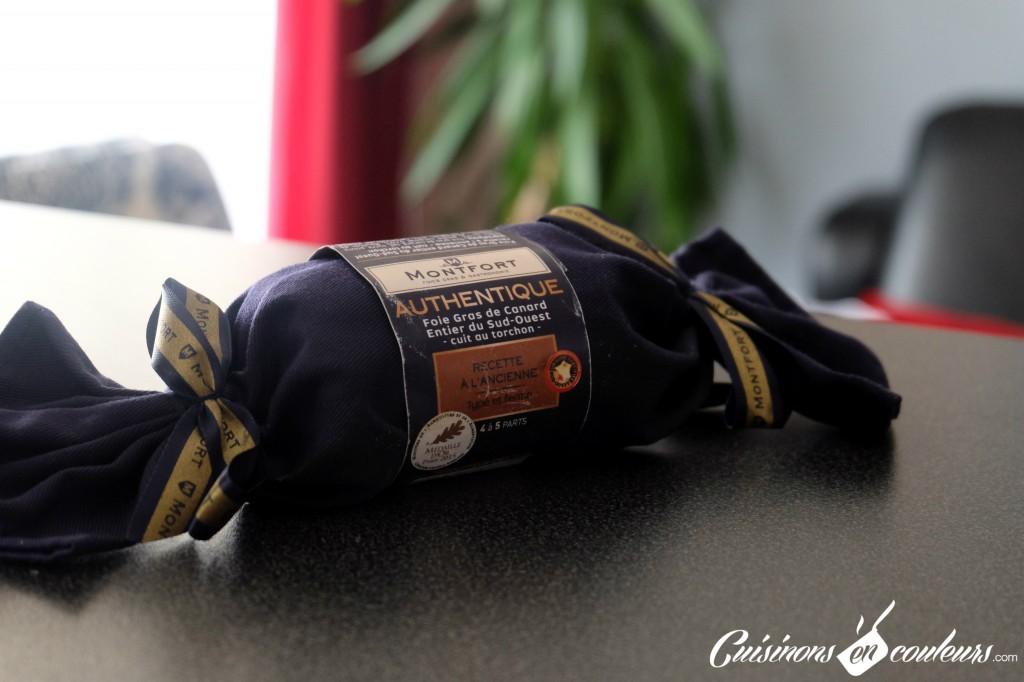 Foie-gras-montfort-1024x682 - Bouchées au foie gras Monfort, au pain d'épices et à la gelée de coings