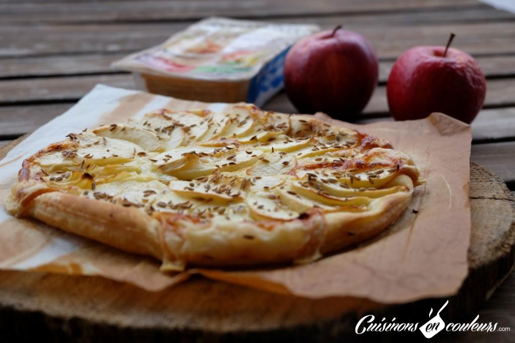 Raclette-et-pommes1-1024x682 - Tarte fine aux pommes et à la Raclette
