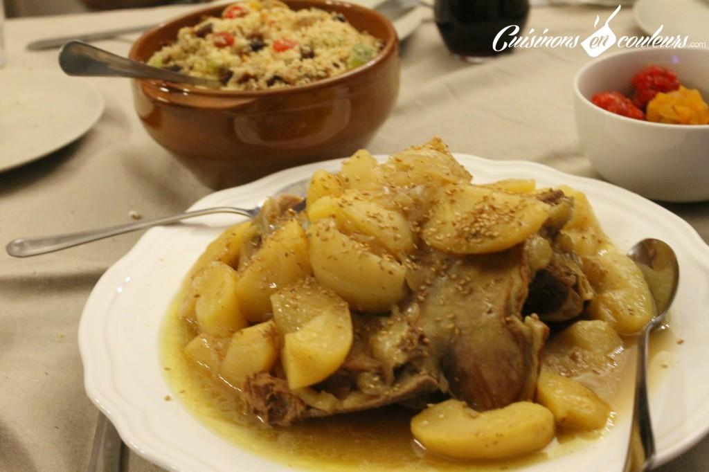 tajine-aux-pommes-1024x682 - Couscous aux fruits secs