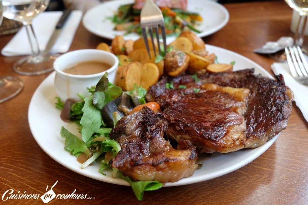 bistro-valois-entrecote-sauce-poivre-1024x682 - Le Bistrot Valois, une cuisine à la française