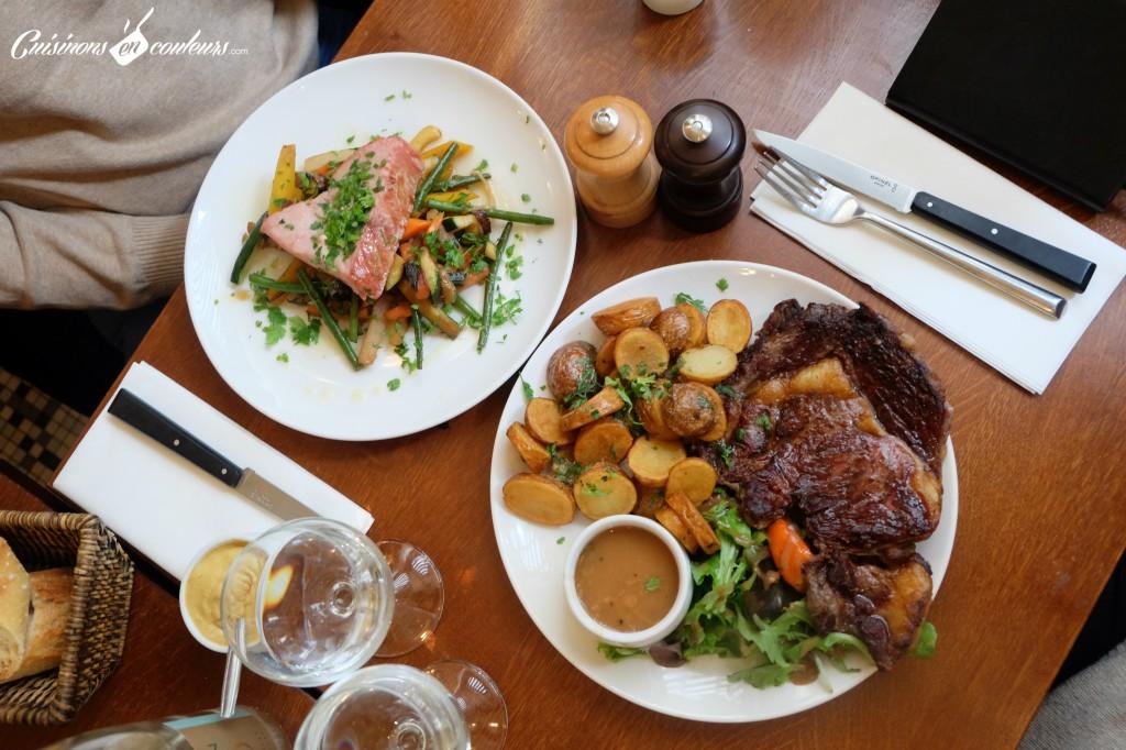 bistro-valois-plats-1024x682 - Le Bistrot Valois, une cuisine à la française