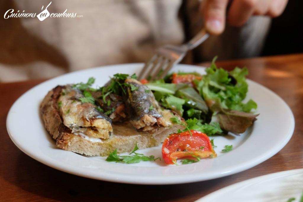 bistro-valois-tartine-de-sardines-2-1024x682 - Le Bistrot Valois, une cuisine à la française