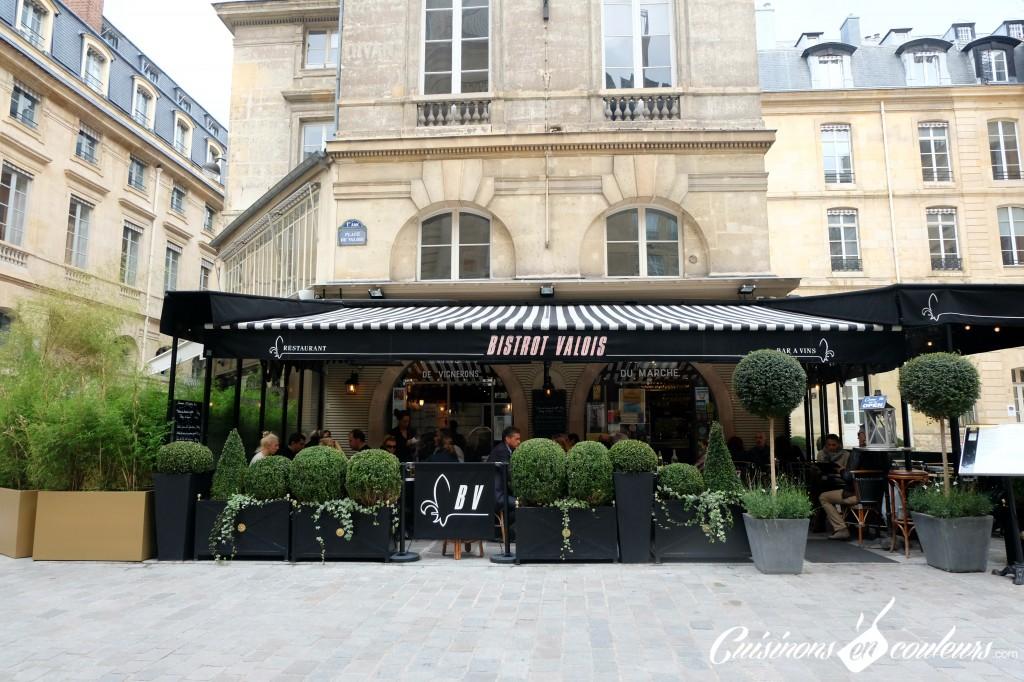 terasse-bistro-valois-1024x682 - Le Bistrot Valois, une cuisine à la française
