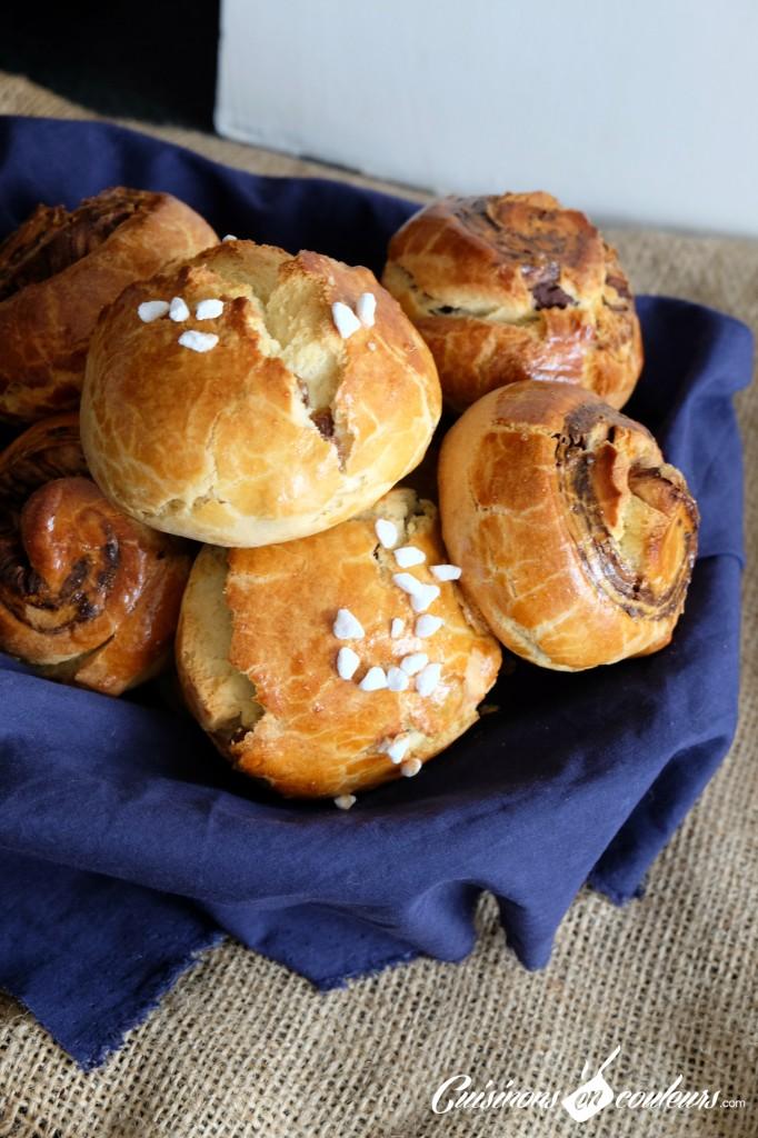 Brioches-faciles-682x1024 - Briochettes aux raisins secs ou au chocolat...