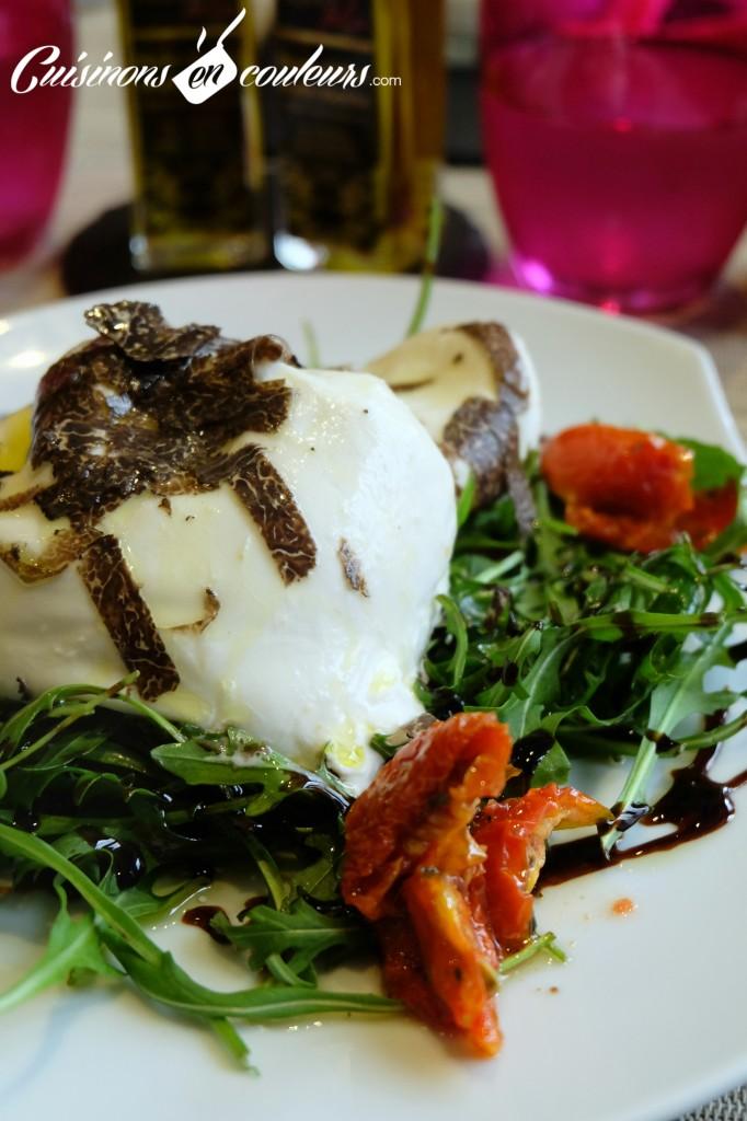 Burrata-a-la-truffe-682x1024 - Truffes Folies, un restaurant truffée dans le 7ème (et un concours inside)