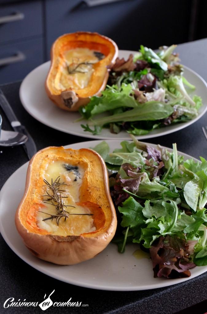 Courge-Butternut-farcie-au-chevre-674x1024 - Butternut farcie au fromage de chèvre