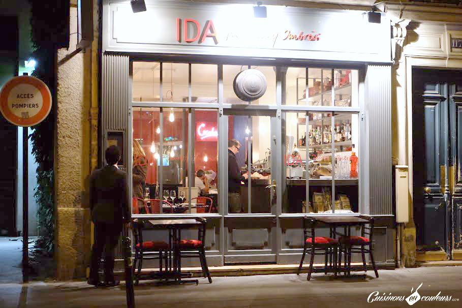 IDA-Paris - IDA, la trattoria italienne par Denny Imbroisi