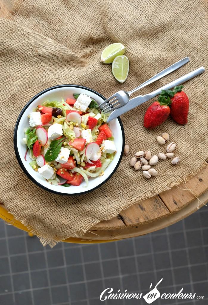 Fraises-et-fenouil-698x1024 - Salade de fenouil aux fraises et pistaches