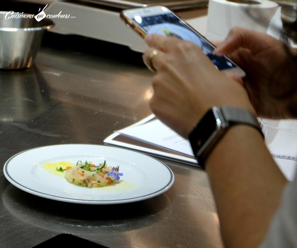 Ceviche-de-bar-a-la-mangue-1024x857 - Un cours de cuisine à l'école Ferrandi autour des produits Maille à gagner sur le blog !