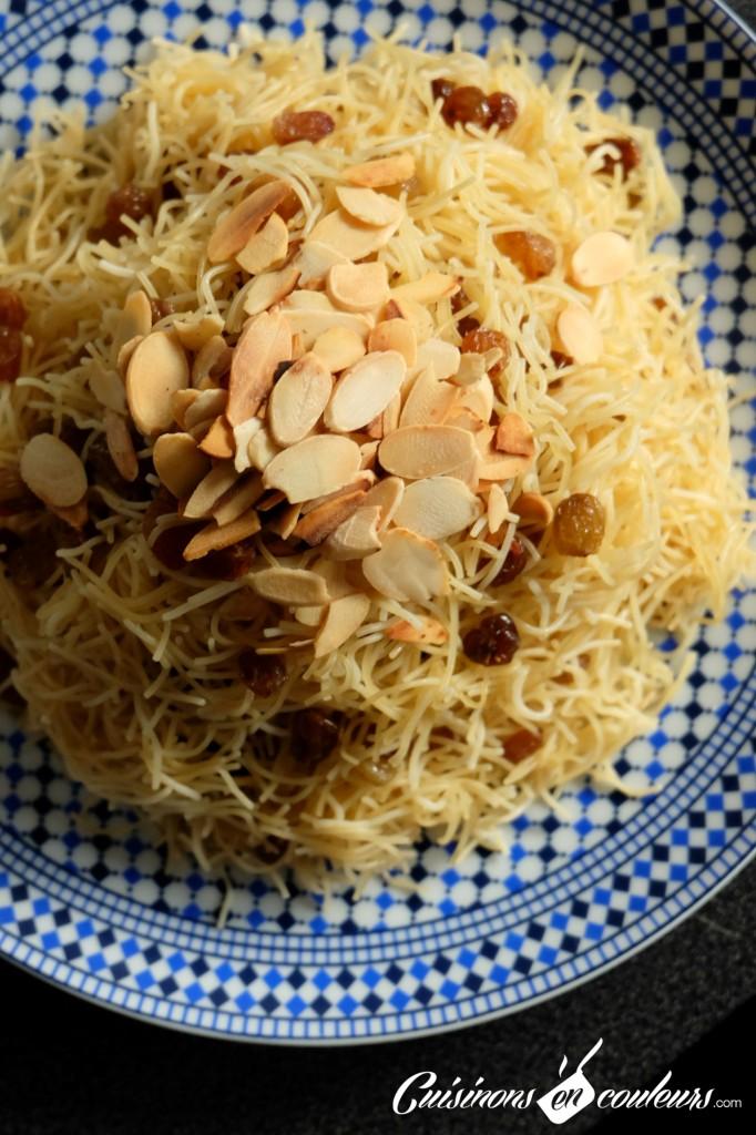 Cuisinons-En-Couleurs-Seffa-682x1024 - Seffa, cheveux d'anges aux raisins secs et aux amandes