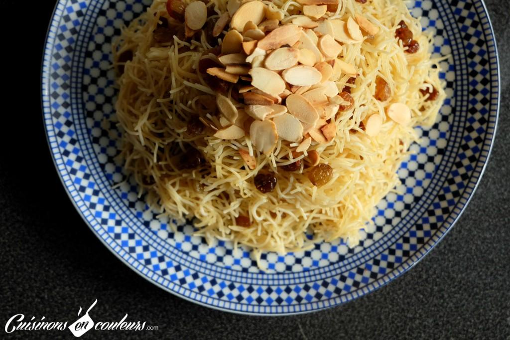 Moroccan-Seffa-1024x682 - Seffa, cheveux d'anges aux raisins secs et aux amandes