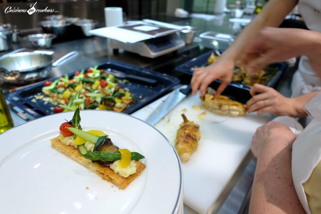 Poulet-et-moutarde-1024x682 - Un cours de cuisine à l'école Ferrandi autour des produits Maille à gagner sur le blog !