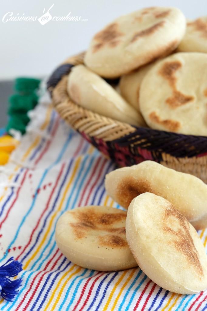 Batbout-facile-a-faire-682x1024 - Mini Batbout : Pain traditionnel marocain cuit à la poêle