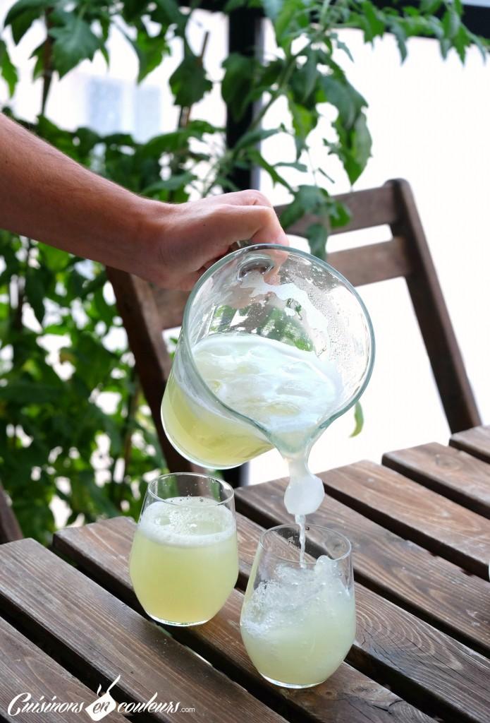 Agua-de-lima-695x1024 - Agua de lima, la citronnade express mexicaine