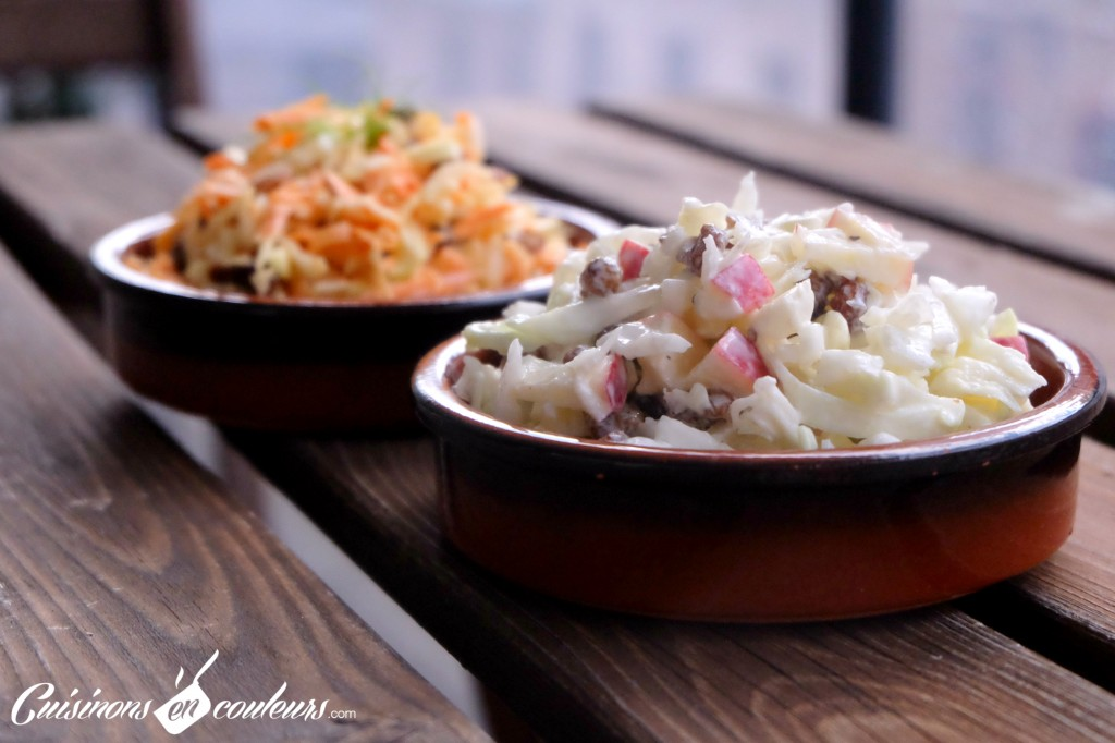 Coleslaw-en-2-recettes-1024x682 - Salade Coleslaw en 2 recettes