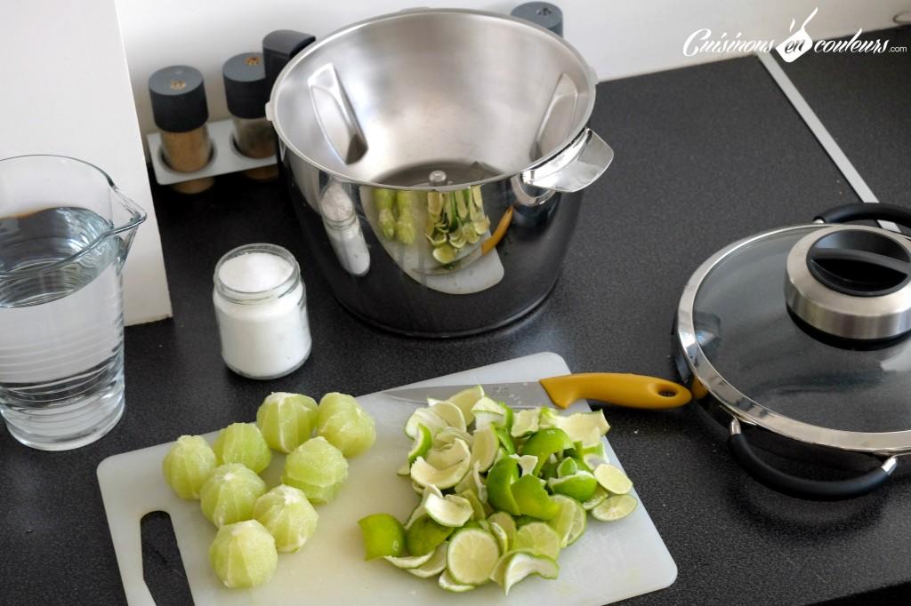 Preparation-de-la-citronnade-1024x682 - Agua de lima, la citronnade express mexicaine
