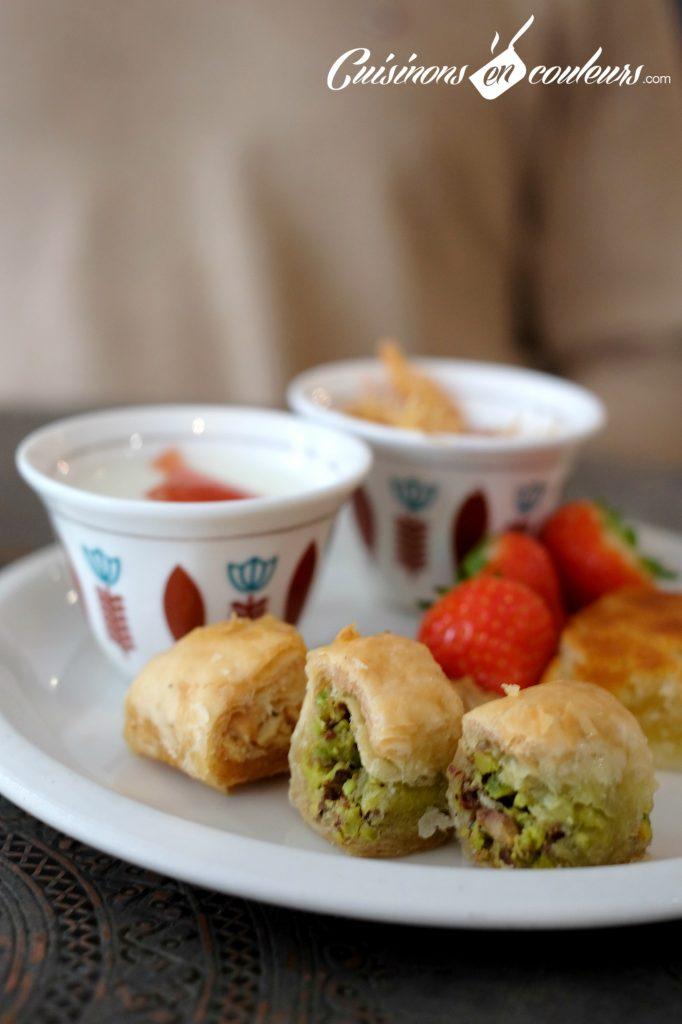 Buffet-dessert-Liza-682x1024 - Liza, pour un brunch à la libanaise