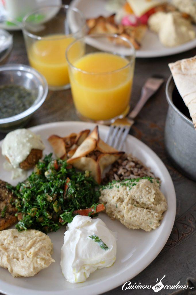 Mezze-libanais-chez-Liza-Paris-682x1024 - Liza, pour un brunch à la libanaise