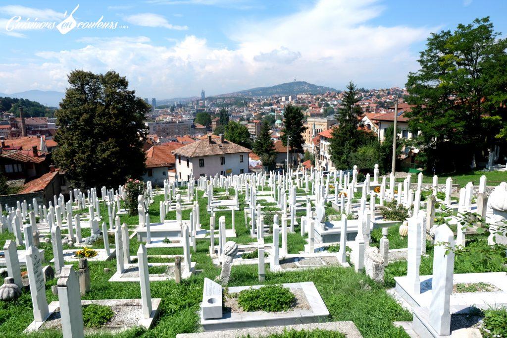 Sarajevo-Cimetiere-1024x682 - Deux semaines entre la Croatie, la Bosnie-Herzégovine et le Monténégro