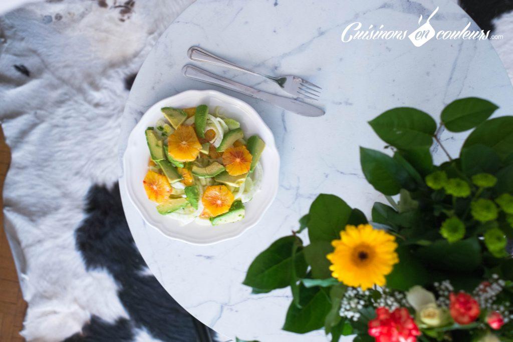Salade-de-fenouil-3-1024x683 - Salade de fenouil cru, avocat et orange