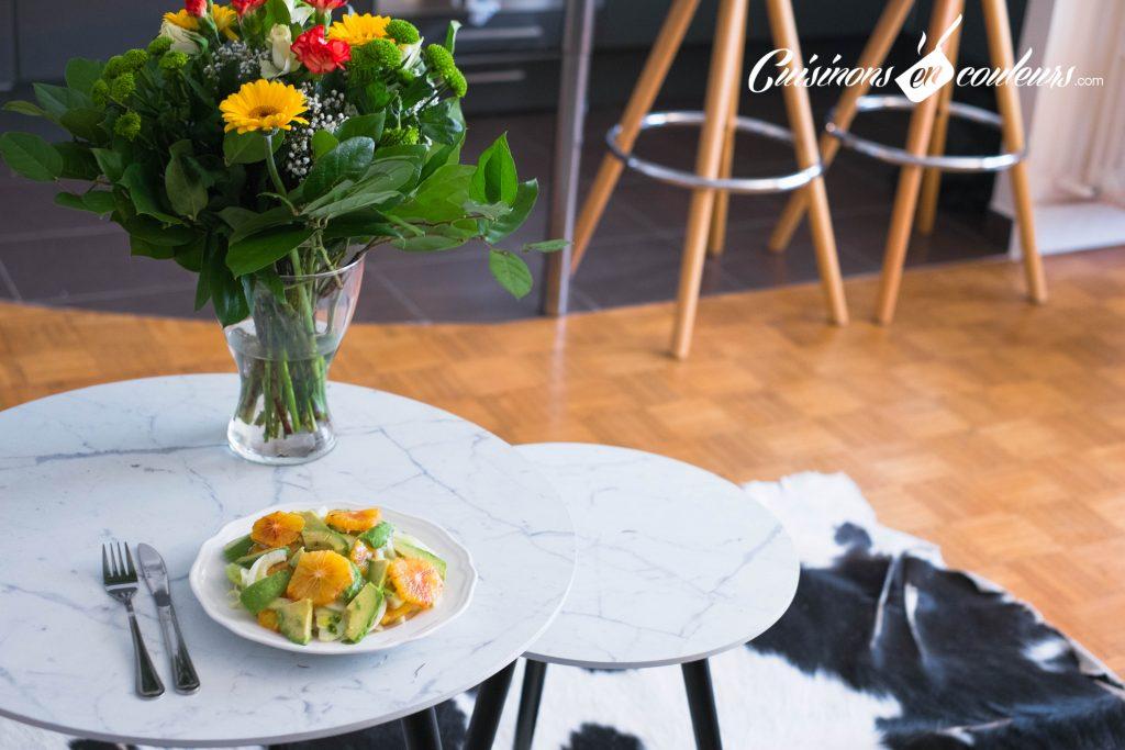 Salade-de-fenouil-4-1024x683 - Salade de fenouil cru, avocat et orange