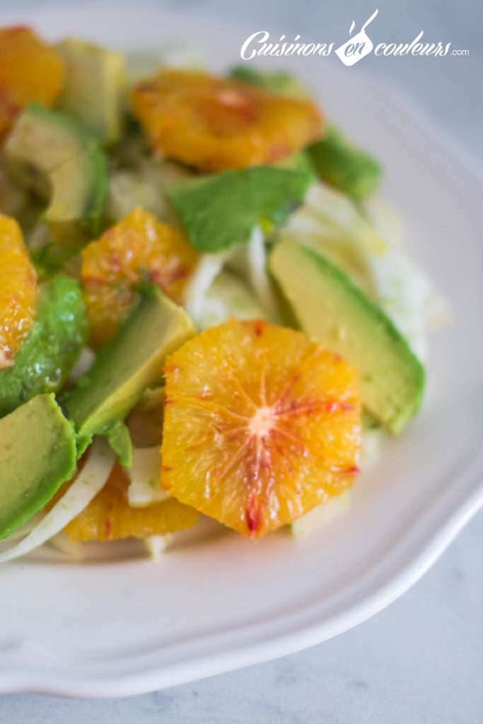 Salade-de-fenouil-5-683x1024 - Salade de fenouil cru, avocat et orange