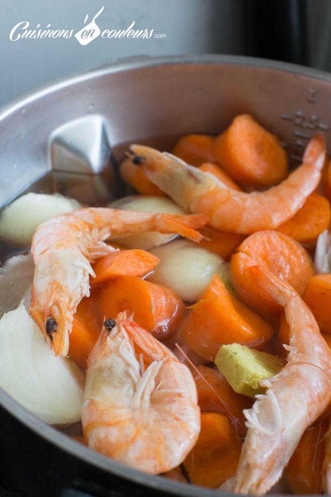 Soupe-de-crevettes-aux-legumes-2-683x1024 - Soupe de crevettes aux carottes