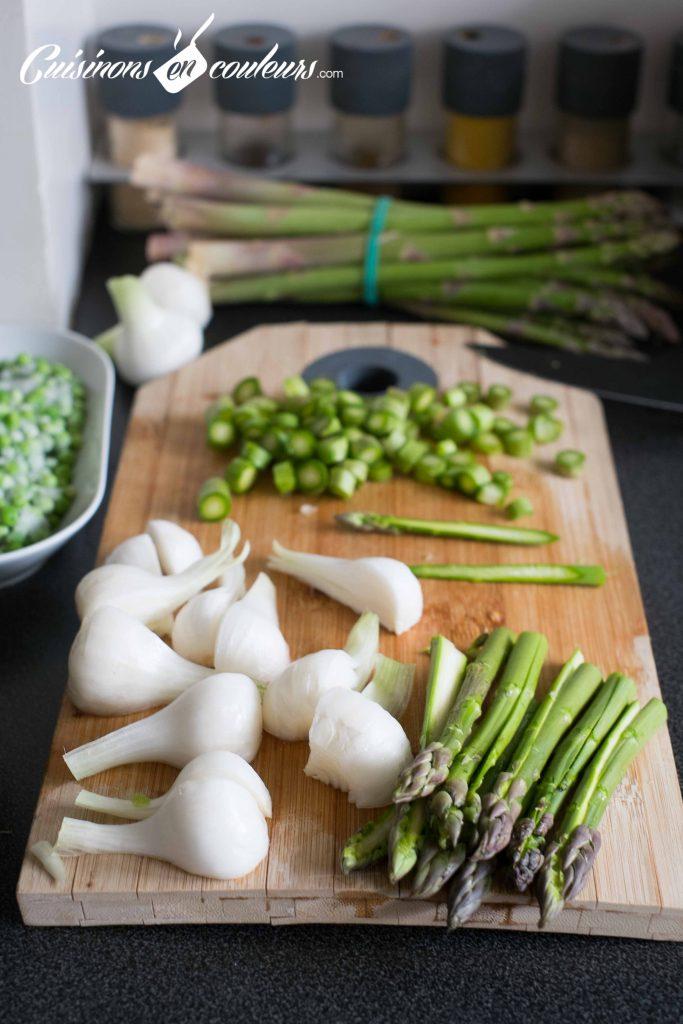 quiche-aux-asperges-et-petits-pois-8-683x1024 - Quiche aux asperges, petits pois, aux oignons nouveaux et à la coriandre