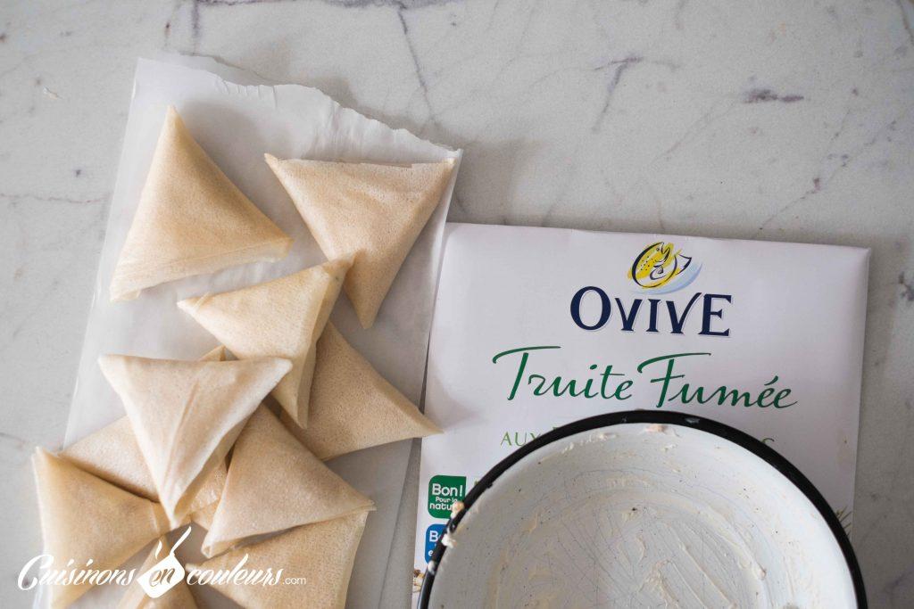 Pliage-briouates-Ovive-10-1024x683 - Briouates à la truite fumée et au fromage frais
