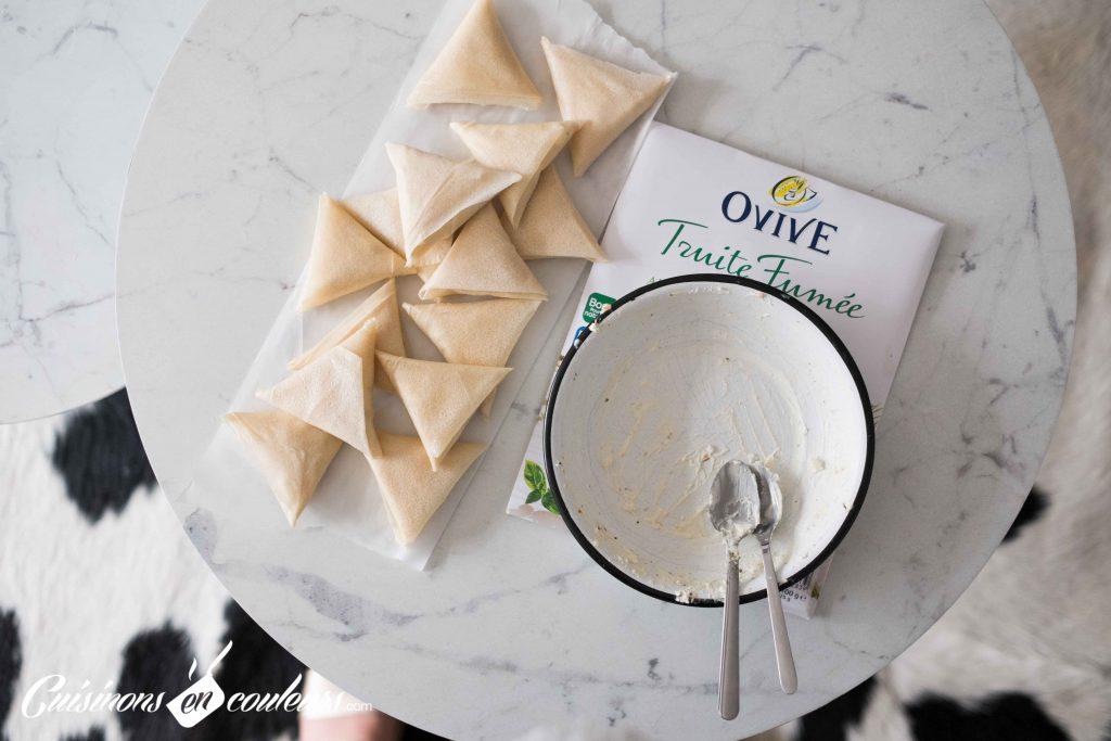 Pliage-briouates-Ovive-9-1024x683 - Briouates à la truite fumée et au fromage frais