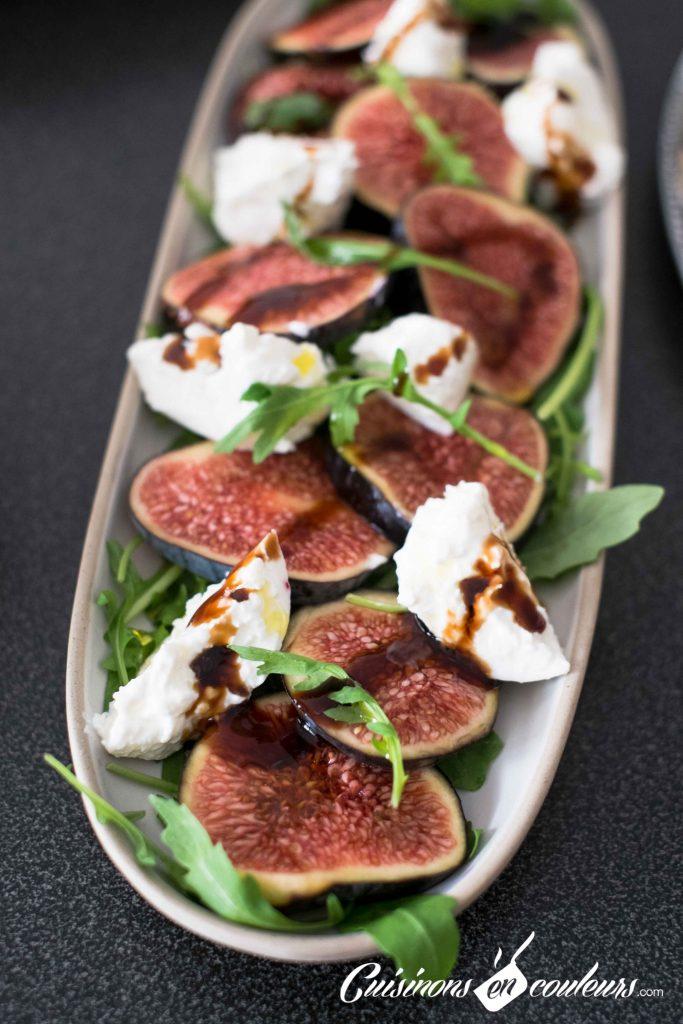 Salade-figues-et-burrata-9-683x1024 - Salade de figues, burrata et roquette