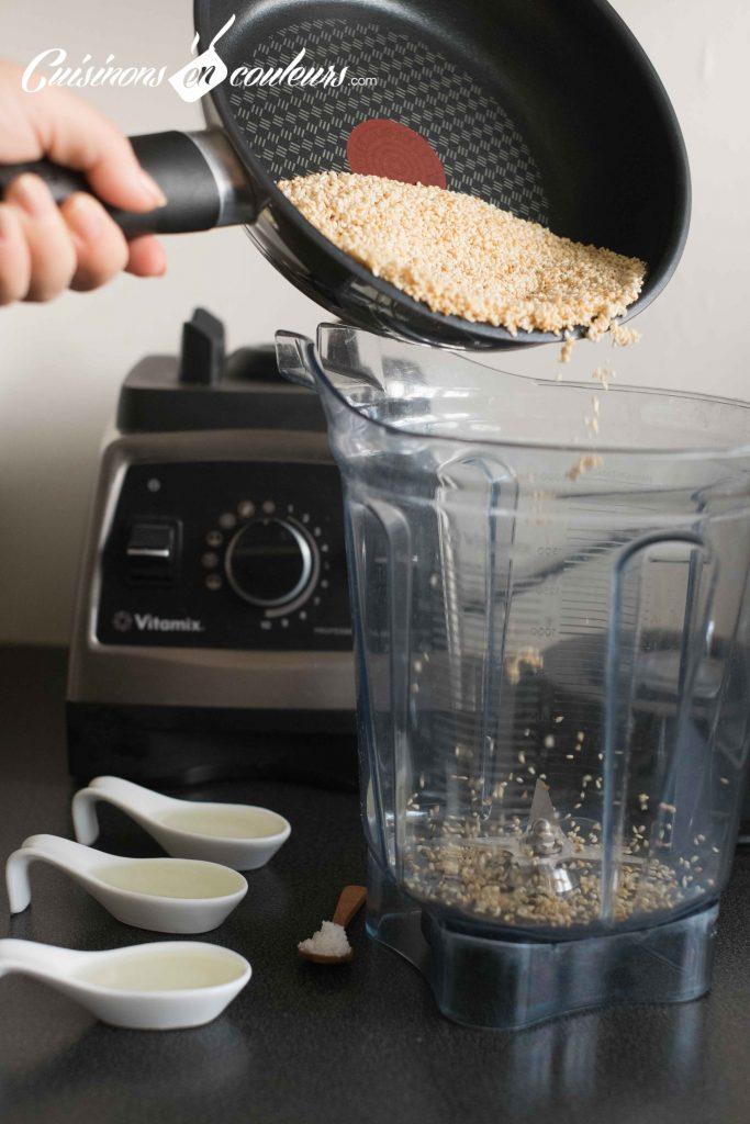 Homemade-Tahine-6-683x1024 - Tahiné, purée de sésame faite maison