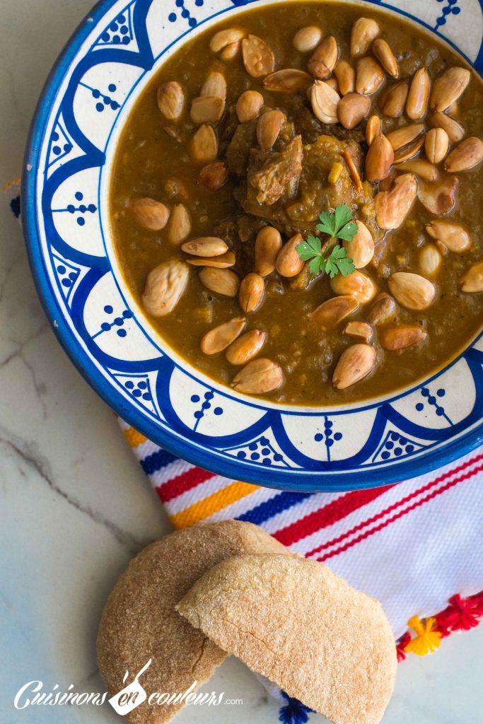 Tajine-aux-amandes-8-683x1024 - Cuisine marocaine : 16 tajines typiques de chez moi !