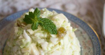 Salade-de-chou-blanc-aux-pommes-et-raisins-351x185 - Cuisinons En Couleurs