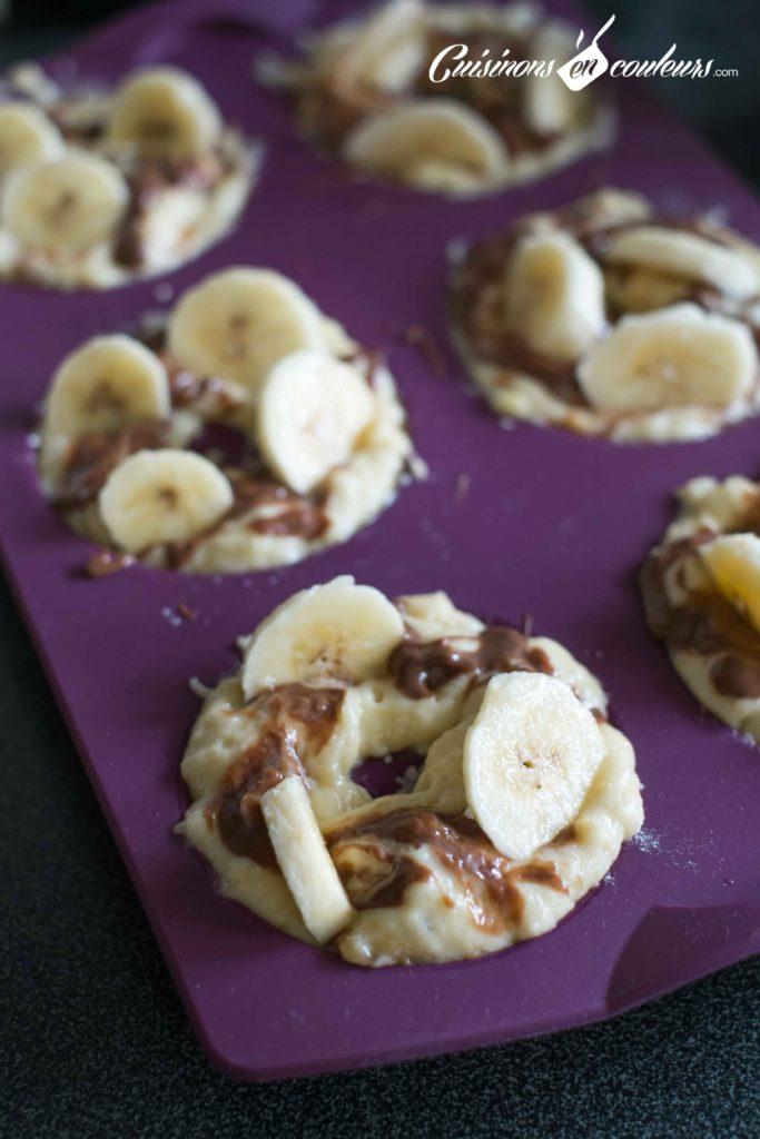 Muffins-choco-bananes-10-683x1024 - Muffins à la banane et à la pâte à tartiner noisettes