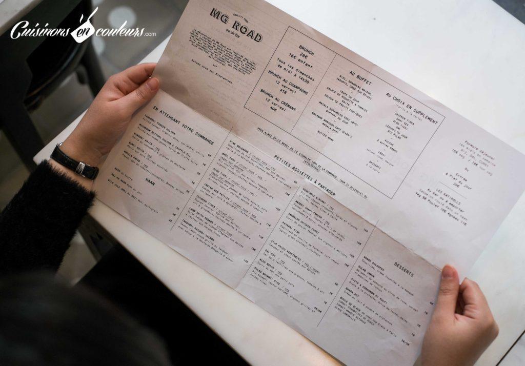 MG-Road-restaurant-indien-5-1024x714 - MG Road, pour une virée en Inde sans quitter Paris !
