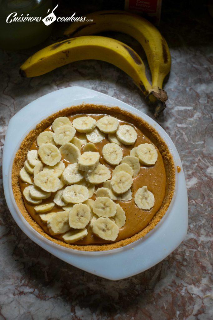 Banoffee-Pie-5-683x1024 - Banoffee Pie, tarte à la banane et au caramel