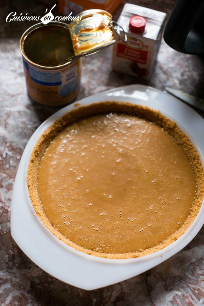 Banoffee-Pie-6-683x1024 - Banoffee Pie, tarte à la banane et au caramel
