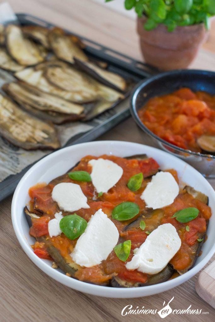 Parmigiana-7-683x1024 - Parmigiana, un gratin d'aubergines à la tomate et au parmesan
