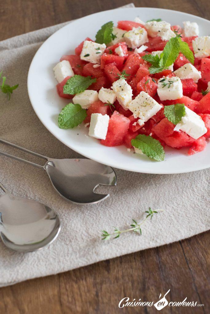 Salade-pasteque-5-683x1024 - Salade de pastèque à la feta