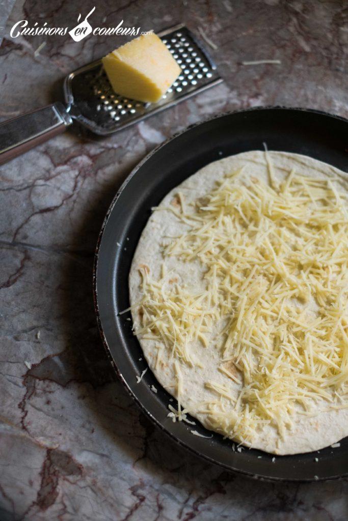 quesadillas-2-683x1024 - Quesadillas à la viande hachée et aux poivrons