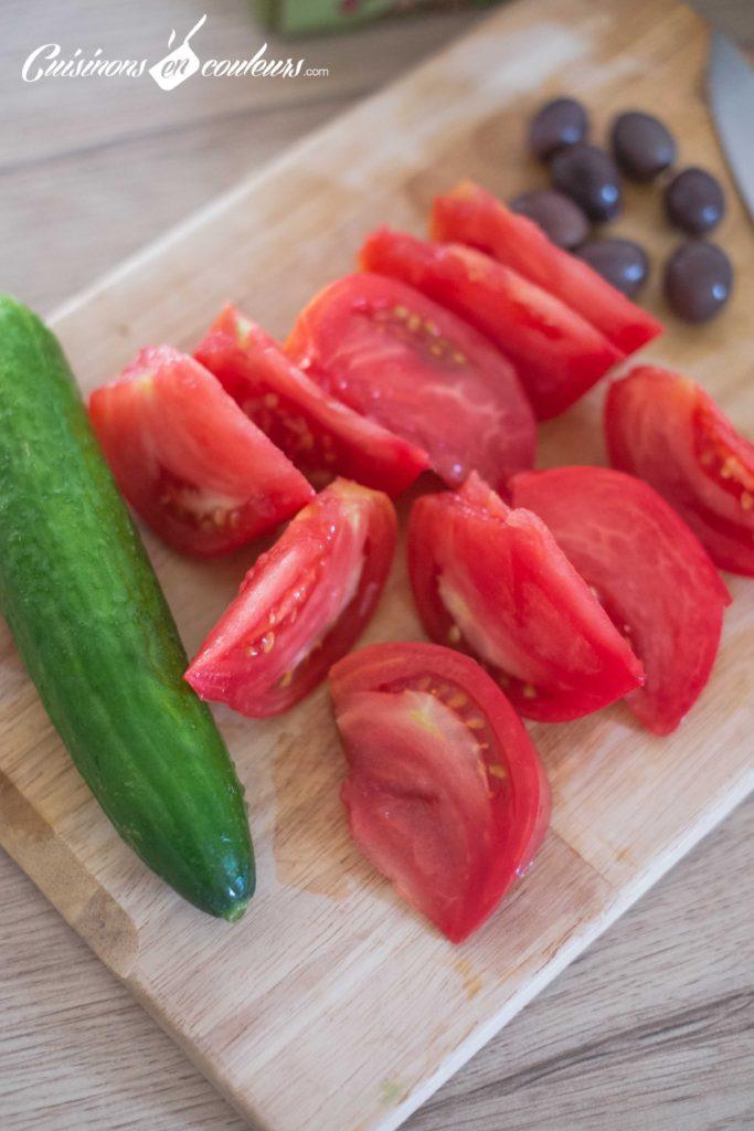 Salade-grecque-2-683x1024 - Salade grecque à la feta