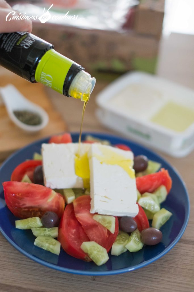 Salade-grecque-5-683x1024 - Salade grecque à la feta